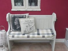 Shabby Chic Pew #benches