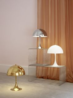 Panton Chair, Perriand, Design Bestseller, Lumiere Led, Brass Table Lamps, Luminaire Design, Scandinavian Design, Scandinavian Lighting, Nordic Design