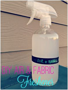 DIY air and fabric freshener, febreeze