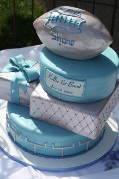 Blue And Silver Wedding Cakes   Wedding Cakes Photos