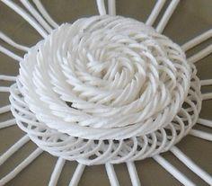 Coiled strip from Dot Veil mat http://www.sugarveil.com/mat/sugarveil-mat.htm