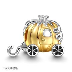 SOUFEEL Pumpkin Coach Charm. Pumpkin Coach has traditionally been the symbolize of dreamy love. Soufeel jewelry ,for every memorable day.