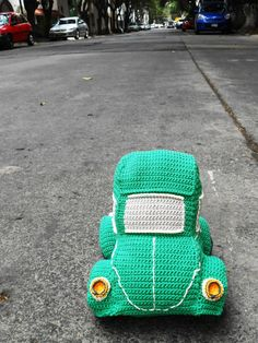 Beetle car amigurumi crochet pattern. By Caloca Crochet ~ Added to this board, but link not yet checked on 03/30/2015