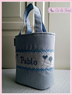 """Cesto acolchado para bebé """"Pablo"""" #bebes #canastillas"""