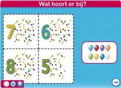 Cijferlotto - Feest / Netwijs.nl - Maakt je wereldwijs #Kinderboekenweek #Feest #Kleuters