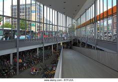 fahrradparkhaus münster   Radstation, Fahrradparkhaus am Hauptbahnhof in Muenster, Westfalen ...