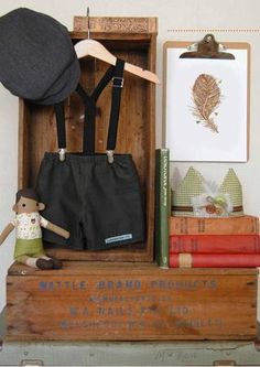 storybook inspired boys room