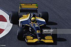 Christian Fittipaldi drives the #23 Minardi Team Minardi M192 Lamborghini 3.5…