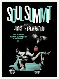 Soul Summit - J.rocc - Breakbeat Lou by Scott Williams Design