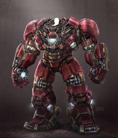 ArtStation - Hulkbuster Fan Art, jarold Sng