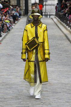 Men's Spring-Summer 2020 show The Man, Fashion Show, Raincoat, Spring Summer, Louis Vuitton, Usa Website, Boys, Virgil Abloh, Artsy