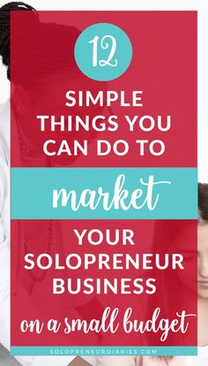Promoting your business doesn't have to be hard or expensive. Here are 12 easy marketing tips to help you grow your small business on a small budget. | Marketing Strategies | Small Business Tips | Tips for Starting a Business #onlinemarketing #business Marketing Strategies, Marketing Ideas, Email Marketing, Content Marketing, Affiliate Marketing, Promote Your Business, Starting A Business, You Can Do, Business Tips
