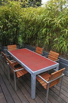If you love the idea of having a privacy screen without having to build one, then growing a natural privacy screen could be for you.    You can stop running bamboo from taking over your yard by containing them in a narrow galvanized steel tank.