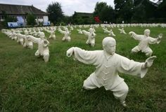 Two-hundred statues depicting Tai Chi in China.  Style Overview: Tai Chi Chuan…