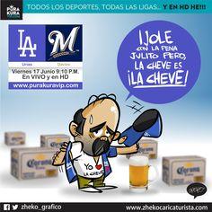 "#ElCartonDelDia para @PurakuraWeb""LA CHEVE ES LA CHEVE"" @theteenager7@Dodgers@BrewersBeisbol@MLB#Urias"