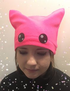 PinkPussy Hat  Free Priority Shipping by TheTwistedCrafts on Etsy