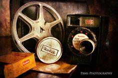 Old vintage movie camera 2  ~ Pams Photography ~