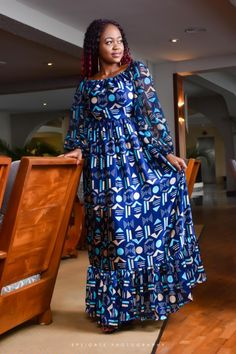 Our brand aims to enhance elegance and African beauty through the multitude of fabrics available to Africa. African Dresses For Kids, African Wear Dresses, Latest African Fashion Dresses, African Print Fashion, African Attire, African Fashion Traditional, African Print Dress Designs, Elegant Woman, The Dress