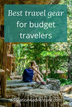 Adoration 4 Adventure's recommendations for budget travel gear that will make your trip more comfortable, simple, and safe. My 6 must-have travel accessories for your next trip including a BONUS discount code to save you even more money. Must Have Travel Accessories, Beach Vacation Packing List, Travel Gadgets, Travel Hacks, Travel Themes, Travel Information, Travel Advice, Travel Stuff, Travel Gifts