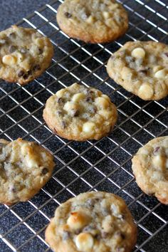 chocolate chip cookies with macademia nuts