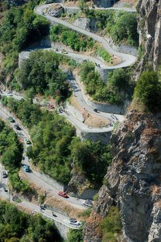 Beautiful Roads, Beautiful Places, Zion National Park, National Parks, Road Routes, Roads And Streets, Dangerous Roads, Beautiful Mosques, Winding Road