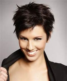short hair for women with round faces - Bing Images