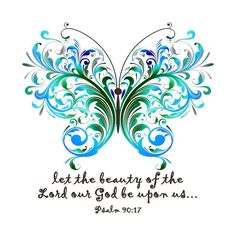 PSALM 90:17 Bible verse. ... the beauty of The Lord our God ...