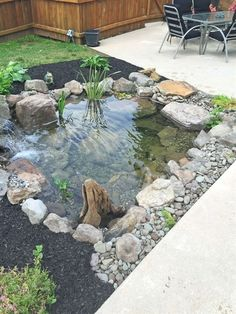 Gorgeous Backyard Ponds And Water Garden Landscaping Ideas 30 Landscapingideas Small