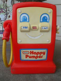 Here is a Little Tikes Cozy Pumper, a fun toy gas pump and a perfect match for your Little Tikes Cozy Coupe, Cozy Truck, Cozy Cab, Princess Coupe and many others! 80s Kids, Kids Toys, Outdoor Toys For Kids, Vintage Gas Pumps, Little Tykes, Preschool Toys, Play Food, Cool Toys, Vintage Toys