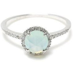 Inspo! wow.. Opal Engagement Rings Offer Unique and Elegant Engagement Rings