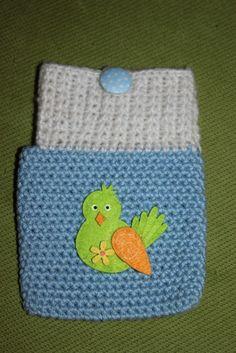 Handmade by Alpenkatzen Tree Branches, Bunt, Art Pieces, Beanie, Hats, How To Make, Handmade, Funny Birds, Funny Stuff