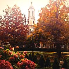 Love fall days at Penn State