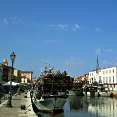 Starting a wonderful BlogVille day with a coffee in Cesenatico, Italy - Instagram by @melvin