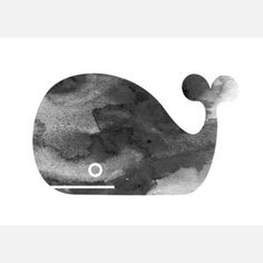 Gray Whale Print by Nathan Gibson $8.40fab This monochromatic whale image is the result of a delicate two-step process. This Gray Whale Print is printed on archival paper—from an original watercolor cutout by the artist—then hand-stamped, signed and hand-mounted on acid-free Bainbridge backing board. Gibson's Whale looks great on its own, and even better in a herd. More Details Each print is protected in a clear plastic sleeve and securely shipped in a rigid flat mailer. Designer Nathan…
