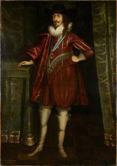 history-of-fashion: Daniel Mytens - King Charles I