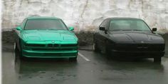 pair of BMW 850's