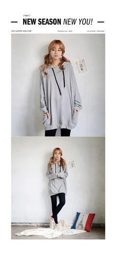 DEEPNY Hooded Pullover Dress | YESSTYLE