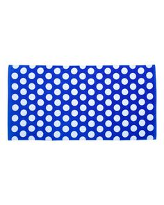 Carmel Towel Company - Polka Dot Velour Beach Towel - C3060P
