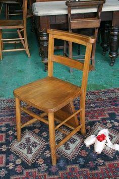 イギリスアンティーク家具チャーチチェア英国製201 4 Antique church chairs ¥22000yen 〆04月25日