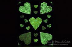Una idea fácil y original para hacer tarjetas de amor, saludos o invitaciones y…