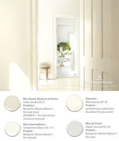 Color Trends & Color of the Year 2019 – Metropolitan If you're looking for a paint color that is transcendent, timeless, and versatile for your home & style, choose Benjamin Moore's Color of the Year 2016 Simply White Turn down the noise and White Paint Colors, Interior Paint Colors, Paint Colors For Home, White Paints, Neutral Paint, Interior Painting, Neutral Colors, Room Colors, Wall Colors