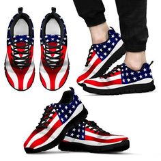 AMERICAN FLAG 3 - MEN & WOMEN