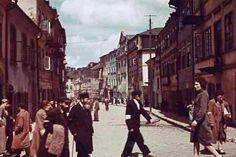 ul. Szeroka w czerwcu 1941 roku. Foto by Max Kirnberger
