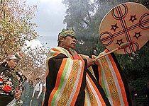 Foto: Machi Mapuche