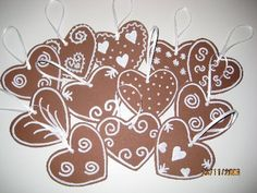 jouluaskartelu - Google-haku Christmas Crafts For Kids, Xmas Crafts, Christmas Decorations, Advent, Christmas Inspiration, Hobbies And Crafts, Gingerbread Cookies, Drawings, Cards