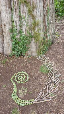 Hier, je participais à une ballade dans un parc pour faire du land art. C'est un art éphémère pratiqué dans la nature avec ce que l'on...