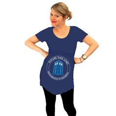 Need this in the future!! Time Lord Maternity Tee