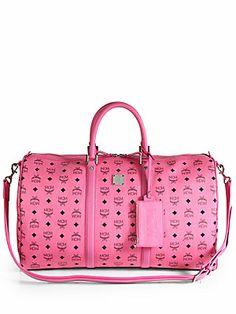 #heartcrush ... MCM Stark Weekender Bag