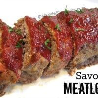 Delicious Savory Meatloaf