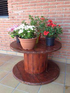 Flowers on the bobine